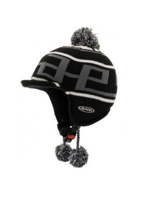 Alpina BEANIE A9044-33 black-grey white 55-58 (4003692193254)