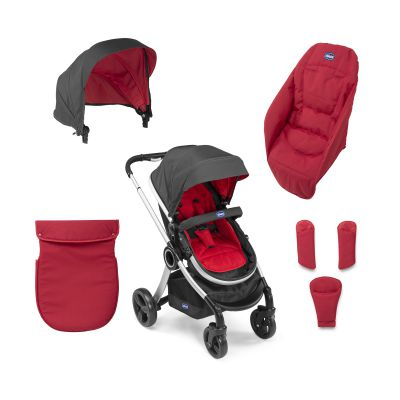 Chicco Urban Red Wave Текстильный комплект (79358.93)