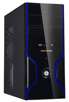 Корпус LOGICPOWER 0105 400W Black