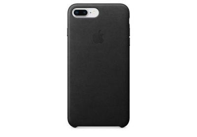 Чехол для мобильного Apple iPhone 8 Plus / 7 Plus Leather Case - Black (MQHM2)