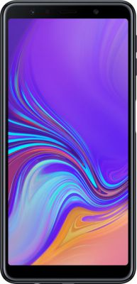 Смартфон Samsung Galaxy A7 2018 4/64GB Black (SM-A750FZKU)