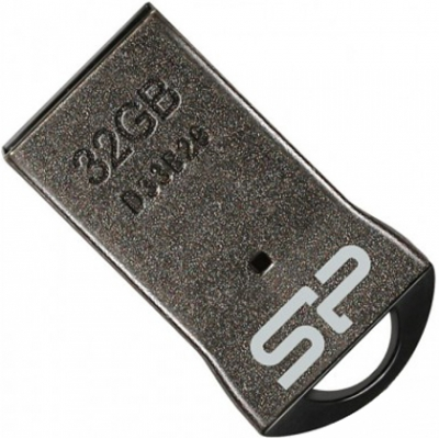 USB-флеш Silicon Power Touch T01 32GB Black, no chain
