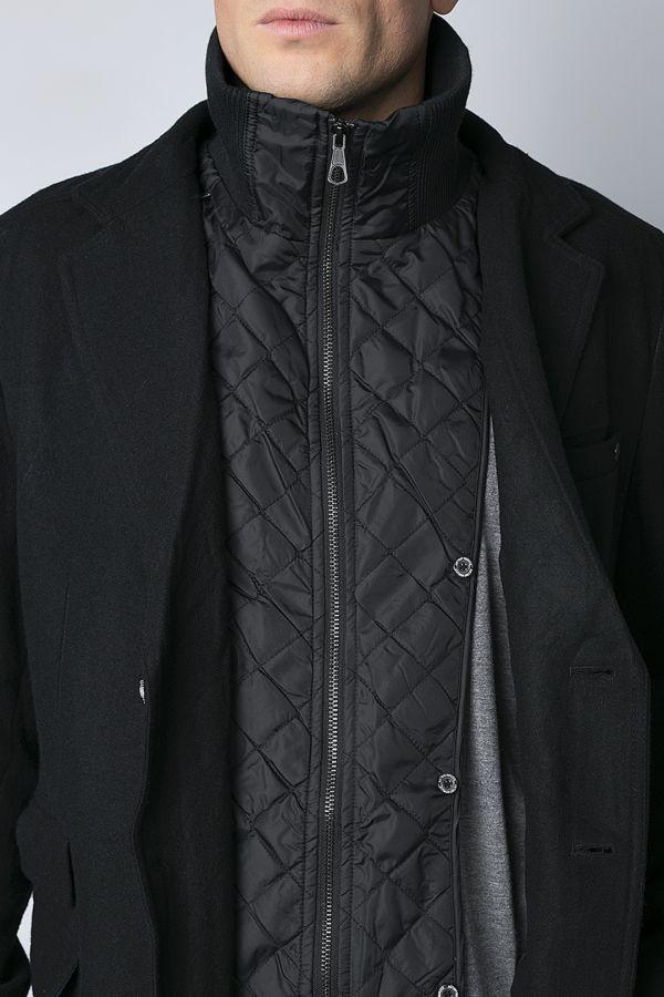 Пальто Antony Morato 96375 черный 46 13ae0fd63f0af