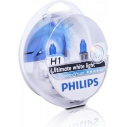 Купить Автолампа Philips H1 12258DVS2 Diamond Vision Blister (2шт.)