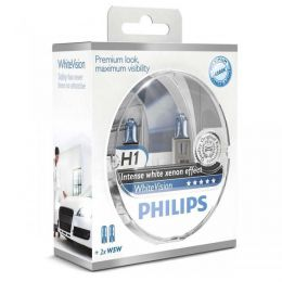 Купить Автолампа Philips H1 12258WHVSM White Vision Blister (2шт.)