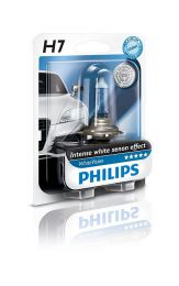 Купить Автолампа Philips H7 12972WHVB1 White Vision Blister (1шт.)