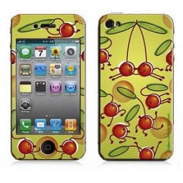 Купить Защитная пленка Bodino Cherry Hop by Valentine Edelmann iPhone 4 Skin