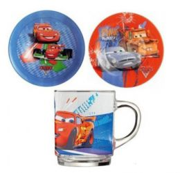 Купить Сервиз Luminarc DISNEY CARS 2 /НАБОР/3 пр.короб
