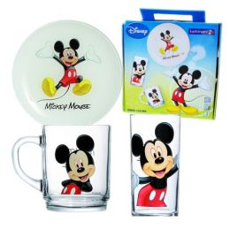 Купить Сервиз Luminarc DISNEY MICKEY COLORS /НАБОР/3 пр.короб
