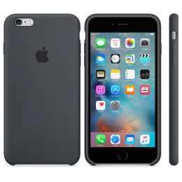 Купить  Товары от производителя Apple Apple Silicone Case для iPhone 6s Plus Charcoal Gray (MKXJ2ZM/A)