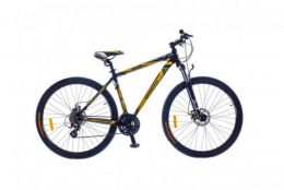 "Купить Велосипед 29"" Optimabikes BIGFOOT AM рама 21"" Vbr Alu Black-yellow SKD 2015"
