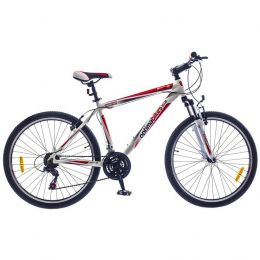 "Купить Велосипед 29"" Optimabikes BIGFOOT AM рама 21"" DD Alu White-red SKD 2015"
