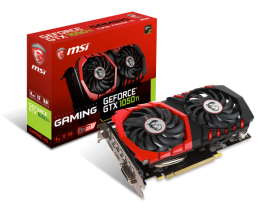 Купить Видеокарта Msi geforce gtx1050ti 4gb ddr5 gaming x
