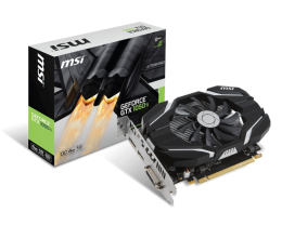 Купить Видеокарта Msi geforce gtx1050ti 4gb ddr5 oc