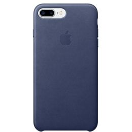 Apple iPhone 7 Plus Leather Case - Midnight Blue MMYG2
