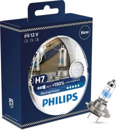 Купить Автолампа Philips H7 RACING VISION (12972RVS2)
