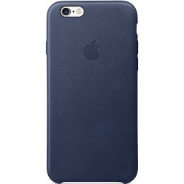 Apple iPhone 6s Leather Case - Midnight Blue MKXU2