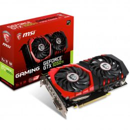 Купить Видеокарта MSI GeForce GTX 1050 TI GAMING 4G