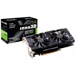 Купить Видеокарта Inno3D GeForce GTX 1060 6GB X2 (N106F-5SDN-N5GS)