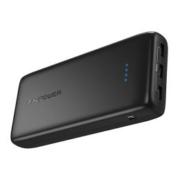 Купить Внешний аккумулятор RavPower Power Bank 32000mAh Fast Charger Black (RP-PB064BK)
