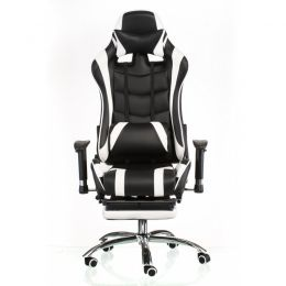 Special4You ExtremeRace black/white with footrest