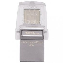 Купить USB-флеш Kingston 128 GB DataTraveler microDuo 3C (DTDUO3C/128GB)