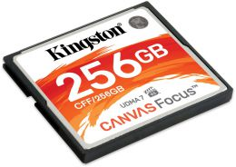 Купить Карта памяти Kingston 256 GB CompactFlash Canvas Focus (CFF/256GB)