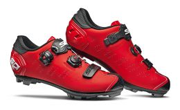 Купить  Велообувь Sidi Dragon 5 SRS Matt Red - Black 43 (CDRAG5CCMATT43)