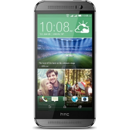 Смартфон HTC One M8 (metal grey)