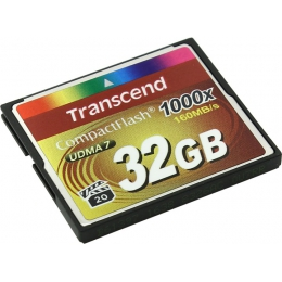 Купить Карта памяти Transcend 32 GB 1000X CompactFlash Card TS32GCF1000
