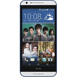 Смартфон HTC Desire 620 DS Gloss White/Blue