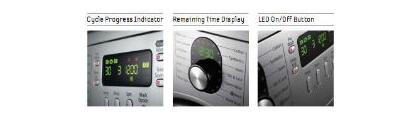 Удобный дисплей стиральных машин Samsung