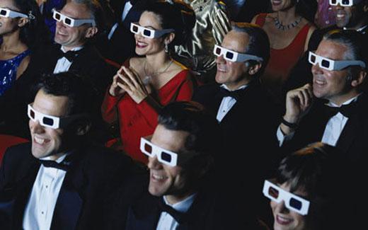 3d очки в кинотеатре