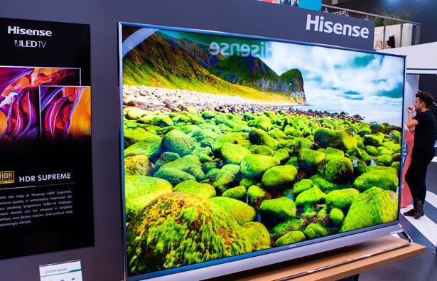 Новые телевизоры Hisense на выставке IFA 2017