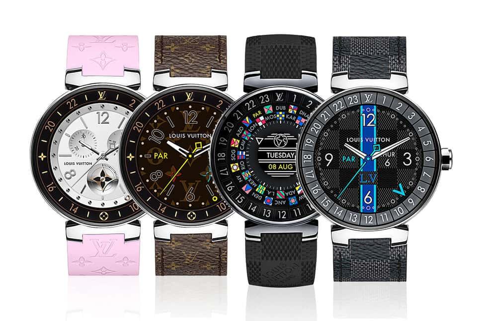 Louis Vuitton выпускает первые смарт-часы Tambour Horizon