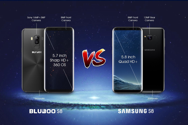 Bluboo vs Samsung
