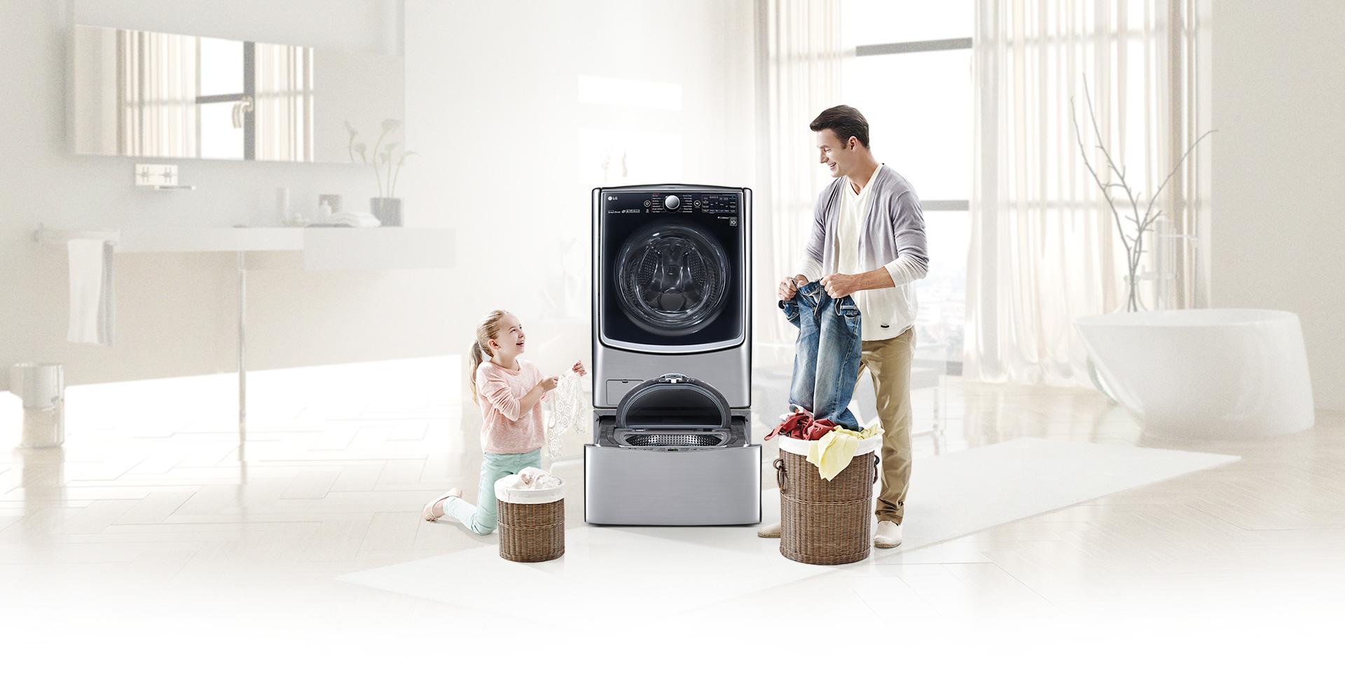 Стиральная машинка LG TWIN Wash