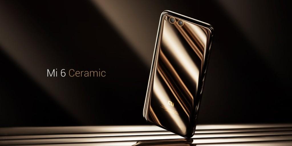 Xiaomi Mi6 с керамической панелью