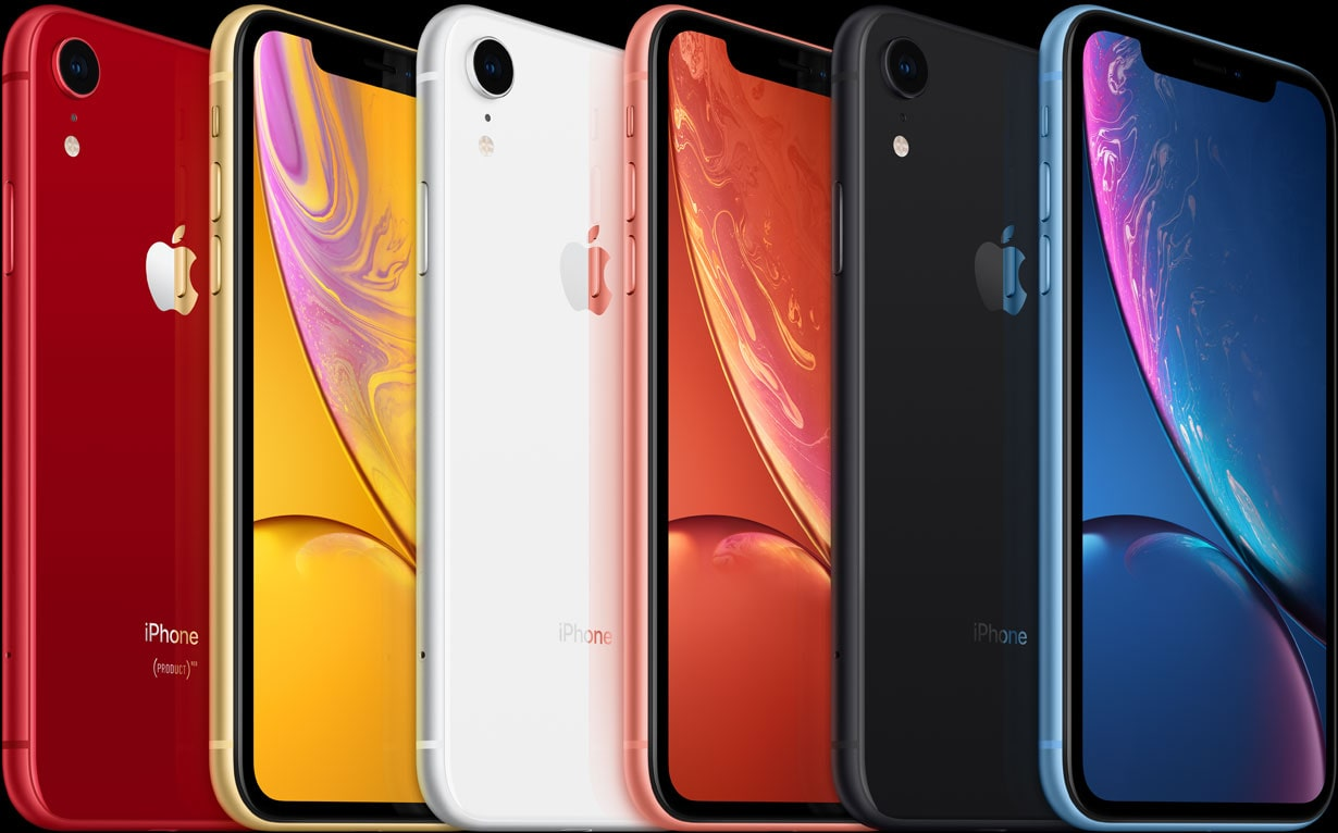 iPhone Xr цвета